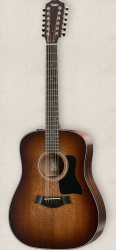 Taylor  Dreadnought 12-String Acoustic Guitar (360E-SEB)