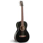 Art & Lutherie  Ami Cedar Steel String Acoustic Guitar - Black (023561)