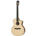 Taylor 114CE-N 100 Series Grand Auditorium Walnut/Sitka Nylon String Acoustic/Electric Guitar