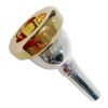 Bach  6 1/2AL Small Shank Trombone Mouthpiece With Gold Rim (3506HALGR)