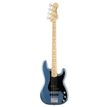 Fender®  American Performer Precision Bass Maple Neck Satin Lake Placid Blue w/ Gig Bag (019-8602-302)