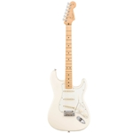 Fender®  American Pro Stratocaster w/ Maple Fingerboard - Olympic White 011-3012-705