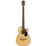 Fender®  Classic Design CB-60SCE Acoustic/Electric Bass w/ Laurel Fingerboard - Natural 097-0183-021