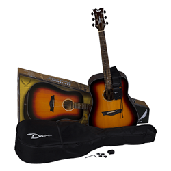 Dean  AXS Prodigy Acoustic Guitar Pack - Tobacco Sunburst AX-PDY-TSB-PK